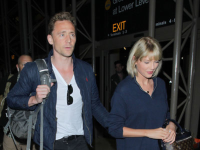 Tom Hiddleston empieza a estar un poquito harto de ir detrás de Taylor Swift