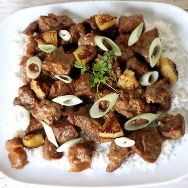 Receta de adobo de cerdo al estilo filipino