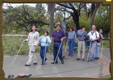 Visitas guiadas para ciegos en el Zoo de Buenos Aires