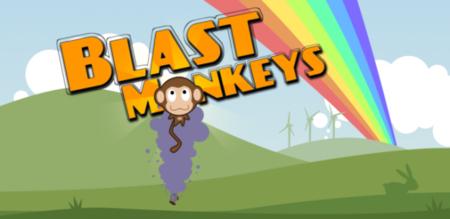 Blast Monkeys, ayuda al mono protagonista a conseguir sus bananas