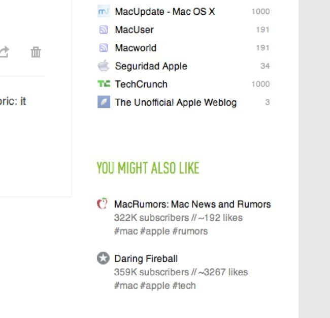 Feedly, alternativa a Google Reader