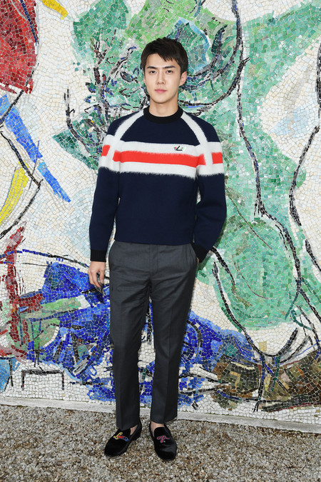 Se Hun Louis Vuitton 2019 Cruise Collection