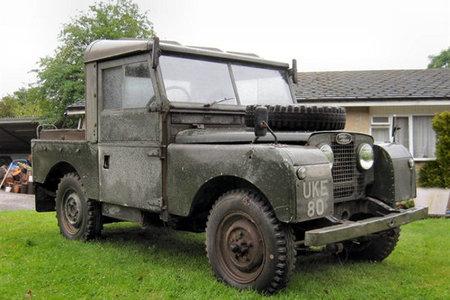 Land Rover que perteneció a Winston Churchill