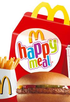 La influencia del mercadeo de McDonalds en niños pequeños