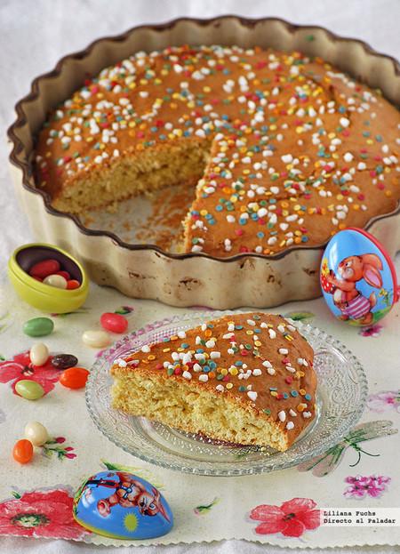 Bizcocho italiano de Pascua. Receta de Semana Santa