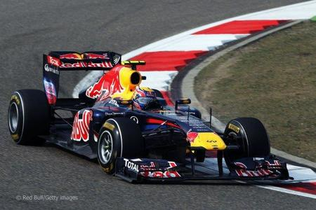Mark Webber GP China F1 2011