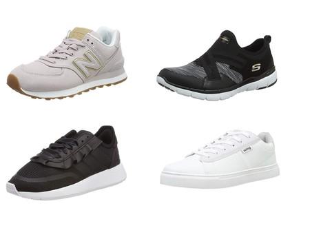 Chollos en tallas sueltas de zapatillas New Balance, Adidas, Skechers o Mustang en Amazon