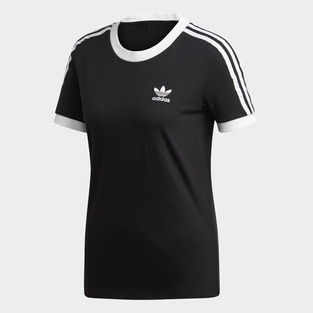 Camiseta 3 Bandas Negro Ed7482 01 Laydown