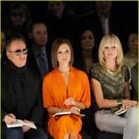 Victoria Beckham, una jurado muy naranja