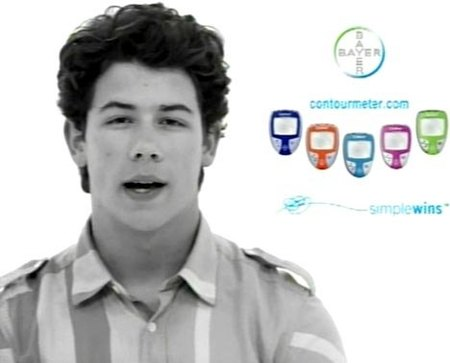 Nick Jonas totalmente implicado en la lucha contra la diabetes