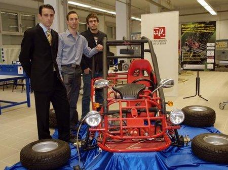 Zemic: el prototipo eléctrico de la universidad de la Rioja