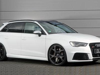 Si tienes un Audi RS3 ya puedes presumir frente a los Audi R8, porque esta preparación saca 555 CV