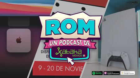 ROM #114: Ya probamos el PS5 y todo lo nuevo de Apple