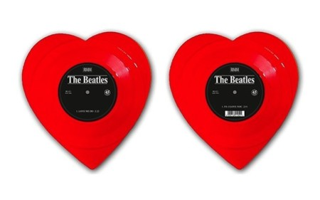 Si eres un romántico amarás esta edición especial de 'Love me do' de 'The Beatles'