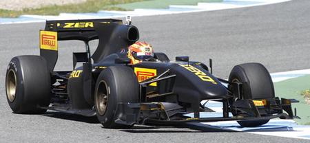 Según Paul Hembery, el estrecho margen de uso de los Pirelli se debe a que su coche de pruebas es de 2010
