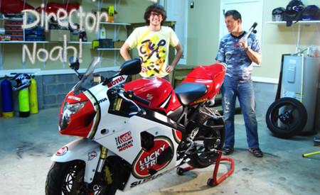 ¿Disfrutas de cómo se hacen las cosas? Aquí tienes un vídeo muy creativo ensamblando una Suzuki GSX-R