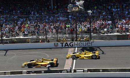Ryan Hunter-Reay se adjudica las 500 Millas de Indianápolis 2014