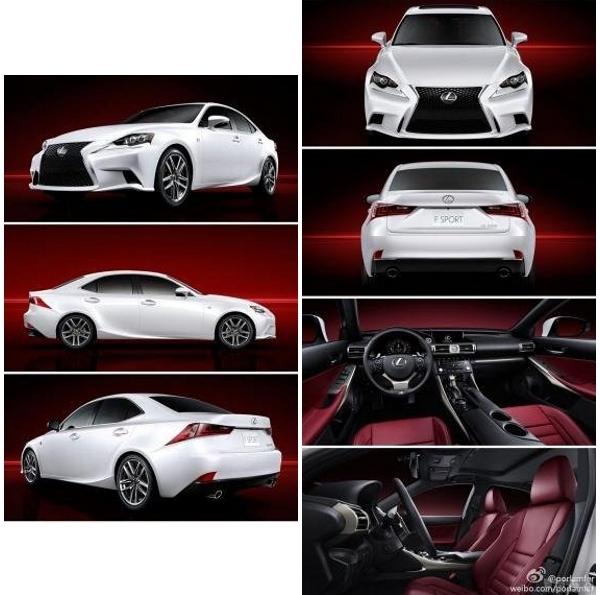 Lexus IS 2013 varias imágenes pequeñas
