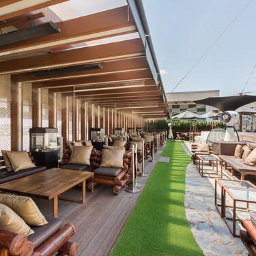 Zielou, una terraza urbana de 600 metros cuadrados para disfrutar de un verano refrescante en Madrid