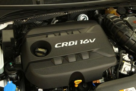 Motor 1.7 CRDi en el Hyundai i40