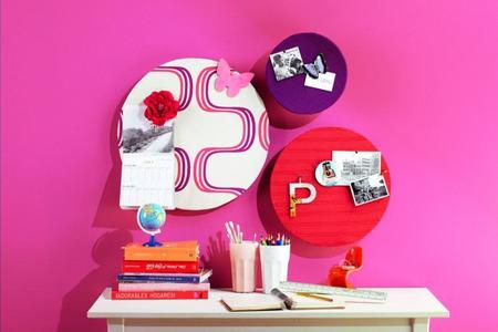 Leroy Merlin telas ambiente rosa