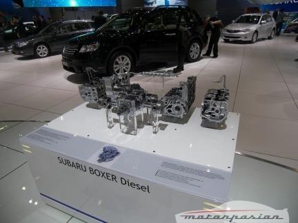 Subaru en el Salón de Ginebra