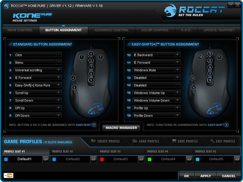 Foto de Roccat Kone Pure, software (2/6)