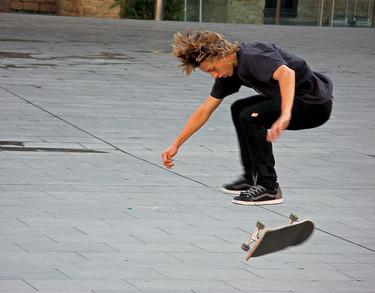 Si practicas skate también haces deporte