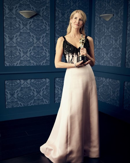 Laura Dern Ganadora Del Oscar A Mejor Actriz De Reparto Por Historia De Un Matrimonio
