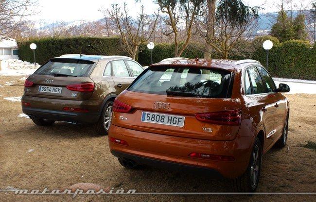 Audi Q3 quattro prueba TDI-TFSI