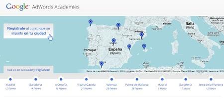 Google Adwords Academy, talleres gratuitos sobre Adwords en distintas ciudades