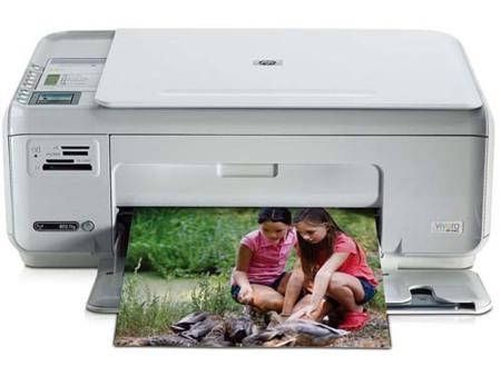 HP Photosmart C4388, multifunción fotográfica con WiFi
