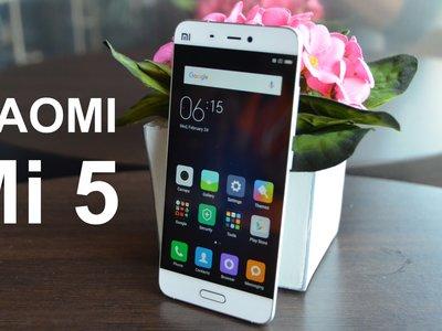 Xiaomi Mi5, con Snapdragon 820 y 64GB de capacidad, por sólo 218,93 euros