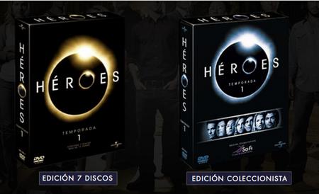 El DVD Edición Coleccionista de Heroes agotado