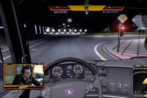 De paseo en camión por Europa y lo bonito de conversar con extraños en streams de Twitch con cero espectadores