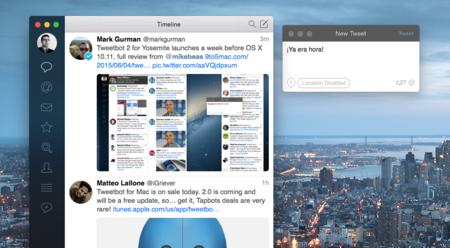 El infierno se congela y en Tapbots lanzan Tweetbot 2 para Mac