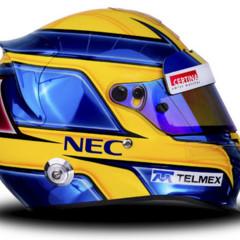 Foto 4 de 23 de la galería cascos-de-la-parrilla-de-formula-1-2013 en Motorpasión F1
