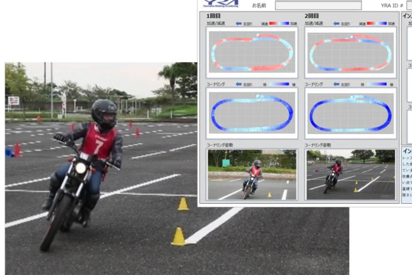 Yamaha YFRS: Un sistema que analiza y ayuda a mejorar tus habilidades de conducción