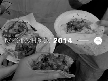 Mesamérica 2014, Cumbre Gastronómica de México