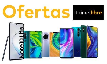 Ofertas en tuimeilibre: estrena un Android de Samsung, Xiaomi o Huawei al mejor precio