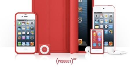 La gama Product (RED) de Apple ha generado 65 millones de dólares para la lucha contra el SIDA