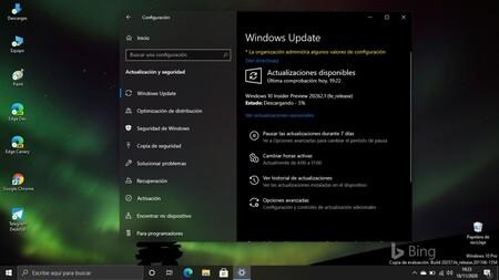 Microsoft libera la Build 20262.1 en el Canal Dev para seguir corrigiendo errores heredados de anteriores compilaciones