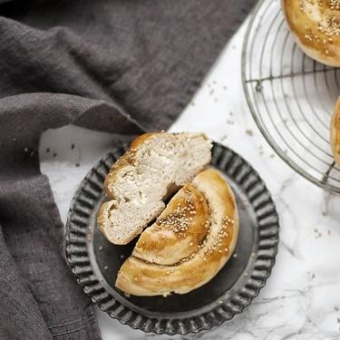 Tyropsomo o espirales de queso: receta griega
