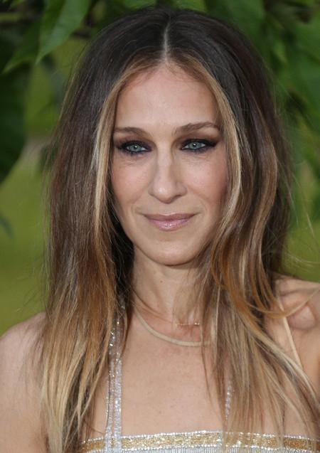 Sarah Jessica Parker también eligió el cabello suelto 4e29ee7b5e4d1