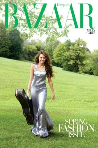 Foto de Miley Cyrus para Harper's Bazaar: el editorial bizarro del año (2/6)