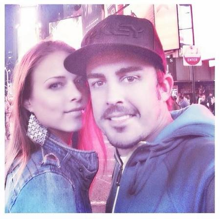 Fernando Alonso y Dasha Kapustina, otros que podrían pasar la Navidad solteros