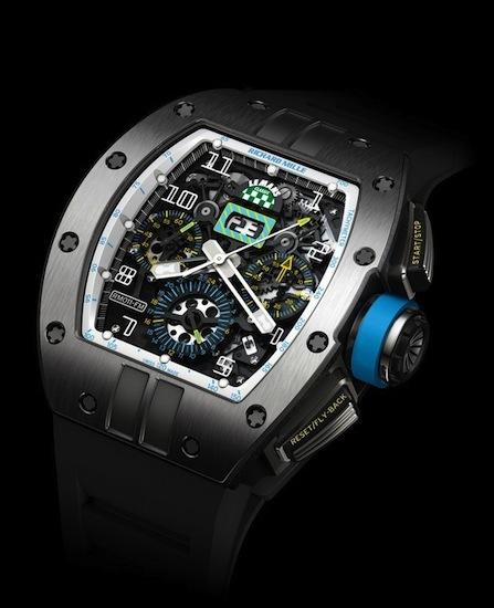 Richard Mille presenta su colección limitada para Le Mans Classic 2012