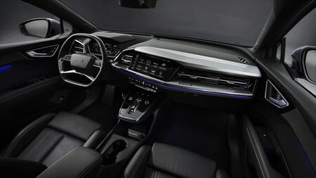 Interior Audi Q4 Sportback E Tron