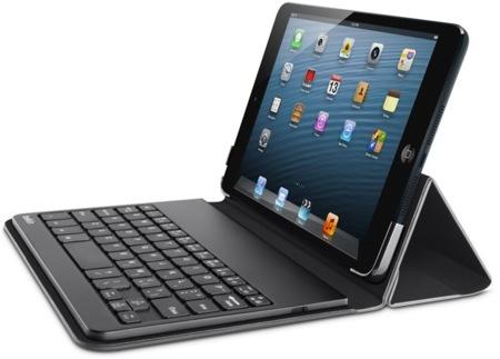 Belkin le pone un teclado al iPad Mini, y queda bonito