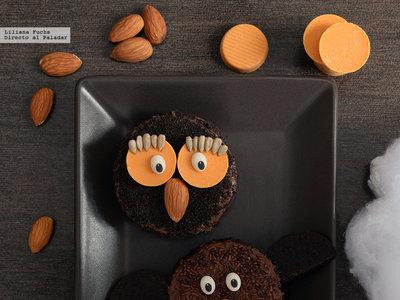 Monstruitos de chocolate. Receta fácil de Halloween
